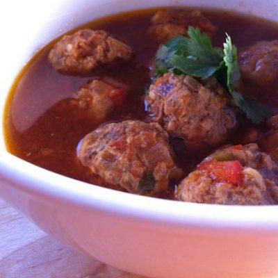 Jaimie's Meatball Soup | StupidEasyPaleo.com