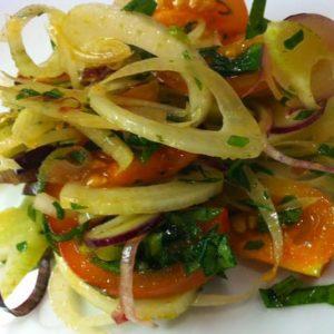 Fennel Tomato Salad | stephgaudreau.com