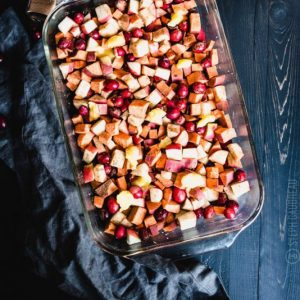 Apple Cranberry Sweet Potato Bake | StupidEasyPaleo.com