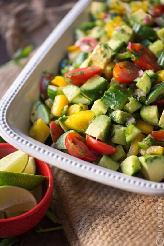 Holy Guacamole Salad Recipe   StupidEasyPaleo.com