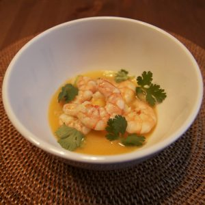 Shrimp in Coconut Broth   stephgaudreau.com