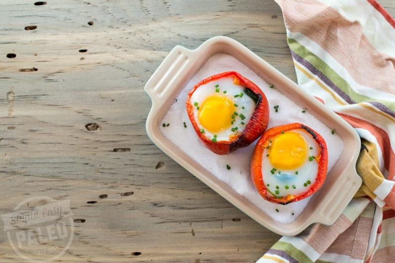 Breakfast Stuffed Peppers | stephgaudreau.com