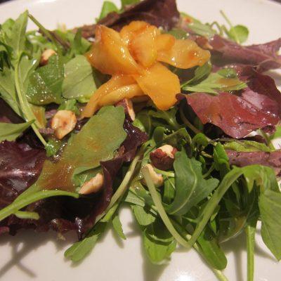 Caramelized Apple and Hazelnut Salad | stephgaudreau.com