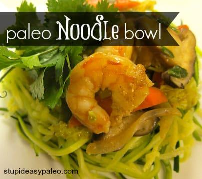 Paleo Noodle Bowl | stephgaudreau.com