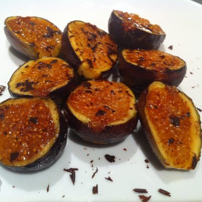 Caramelized Figs with Chocolate | StupidEasyPaleo.com