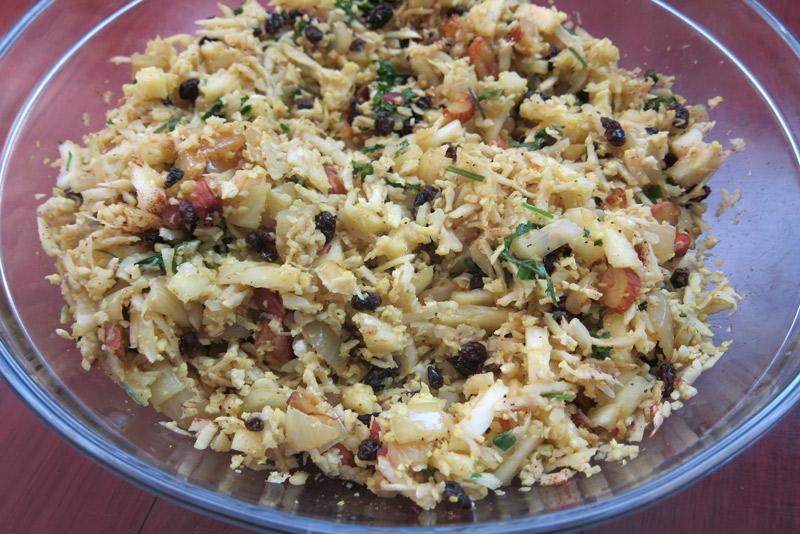 Indian Pineapple Cauliflower Rice   stephgaudreau.com