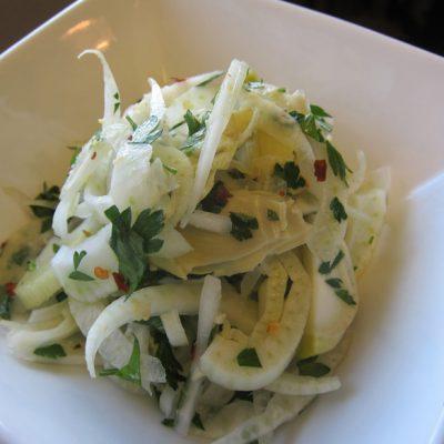 Artichoke Fennel Salad | stephgaudreau.com