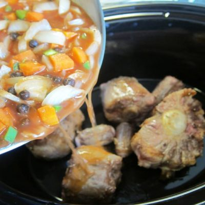Slow Cooker Caribbean Oxtails | stephgaudreau.com