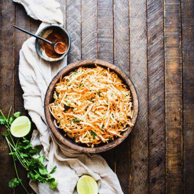 Carrot Jicama Salad Recipe | StupidEasyPaleo.com