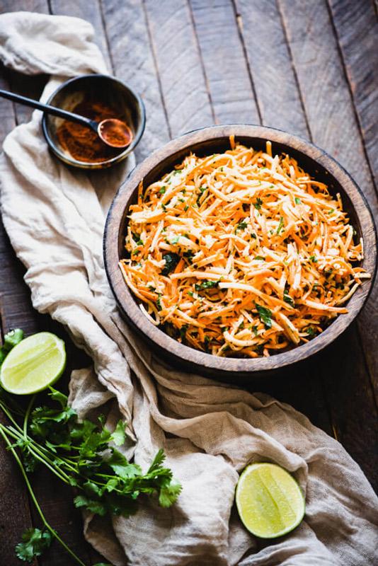 Carrot Jicama Salad Recipe   StupidEasyPaleo.com
