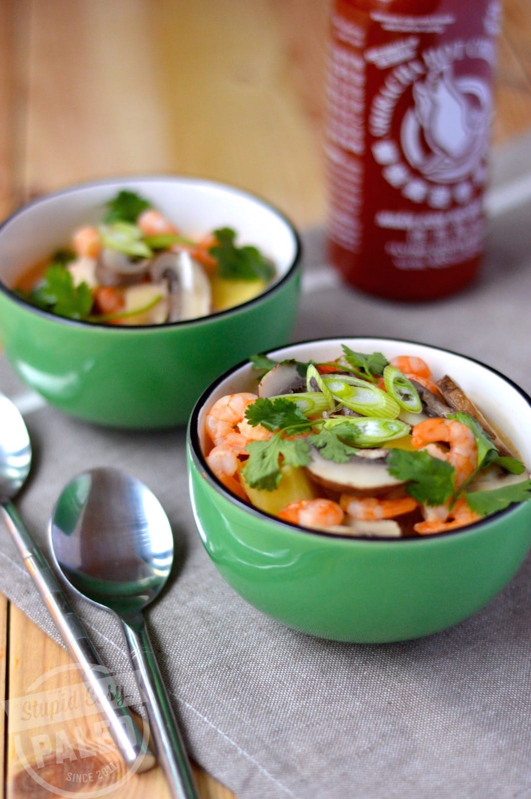 Thai Coconut Soup | stephgaudreau.com