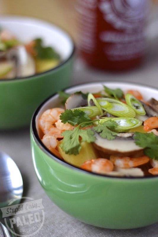 Thai Coconut Soup | stupideasypaleo.com