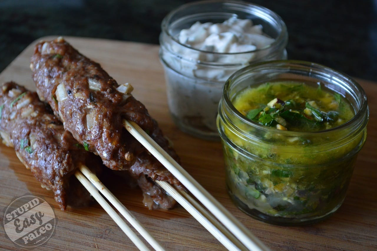 Lamb Kofta (Meat on a Stick) | stephgaudreau.com