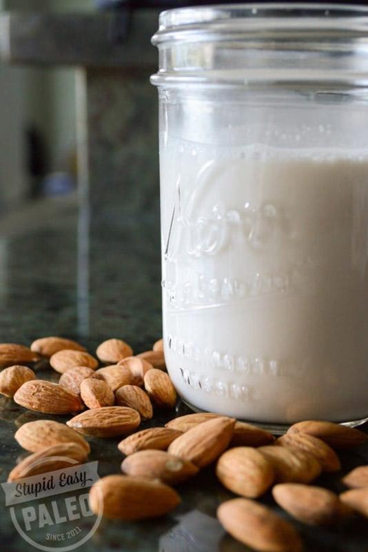 Homemade Almond Milk | stupideasypaleo.com