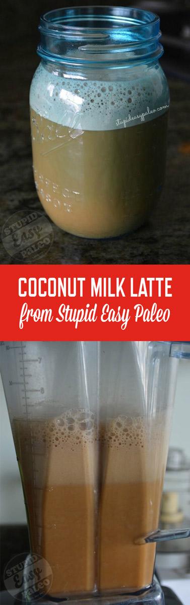 Coconut Milk Latte | StupidEasyPaleo.com