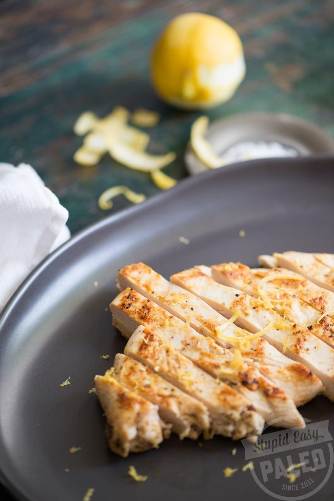 Easy Pan-Fried Lemon Chicken | stephgaudreau.com