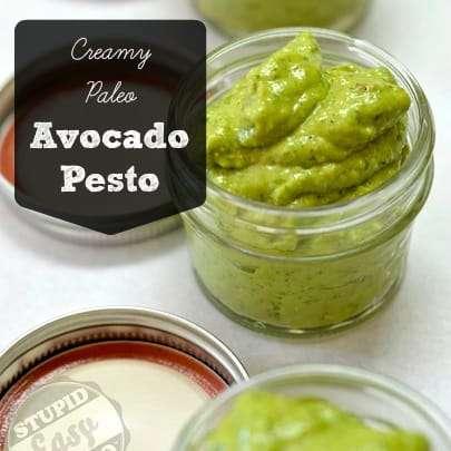 Creamy Paleo Avocado Pesto | stephgaudreau.com