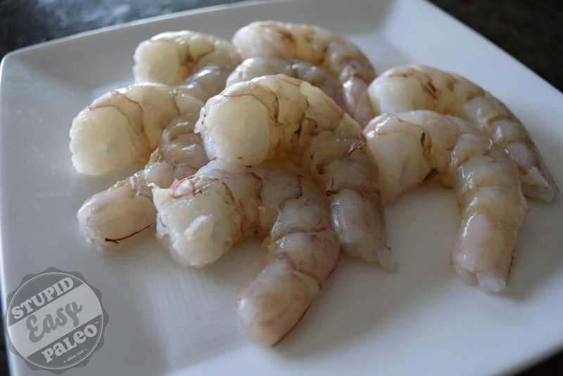 Paleo Coconut Chili Lime Shrimp | stupideasypaleo.com