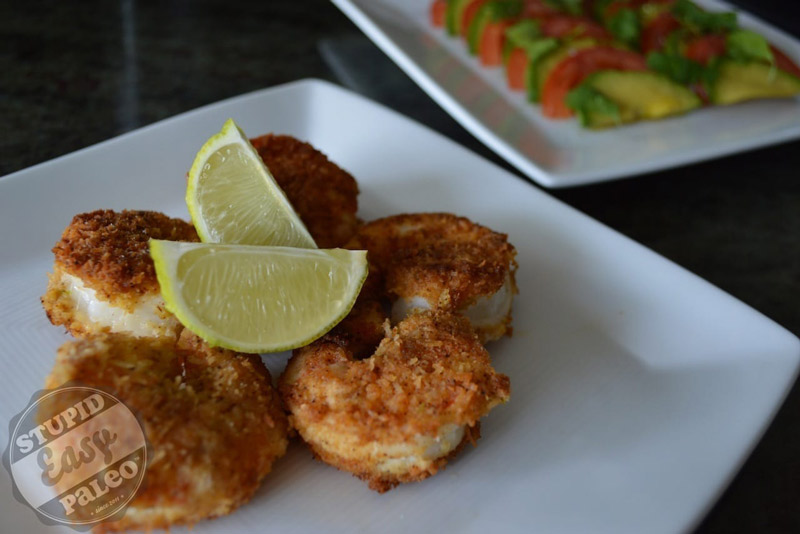 Paleo Coconut Chili Lime Shrimp – Steph Gaudreau