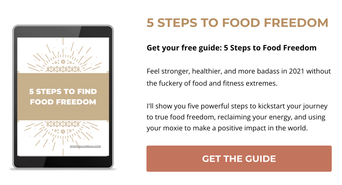 click to get the food freedom guide
