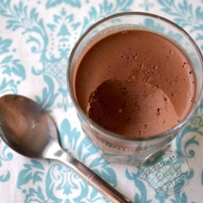 Dairy-Free Dark Chocolate Coconut Pudding | stephgaudreau.com