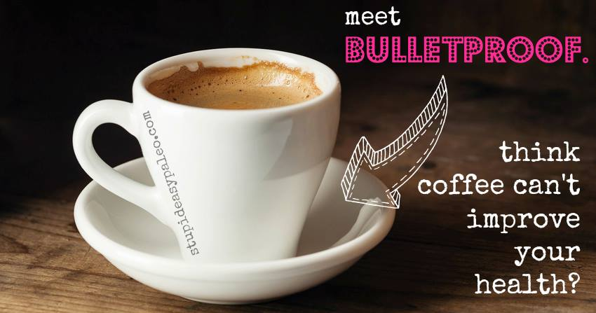 Drinking bulletproof coffee