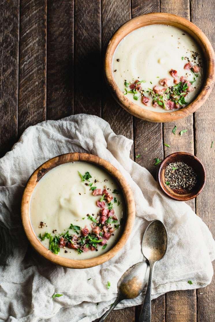 Creamy Leek Soup Recipe | StupidEasyPaleo.com