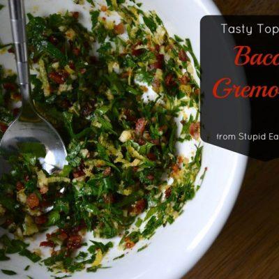 Bacon Gremolata | stephgaudreau.com
