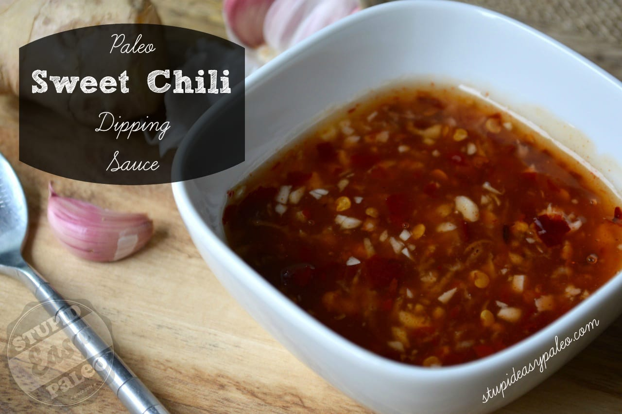Paleo Sweet Chili Dipping Sauce | stephgaudreau.com