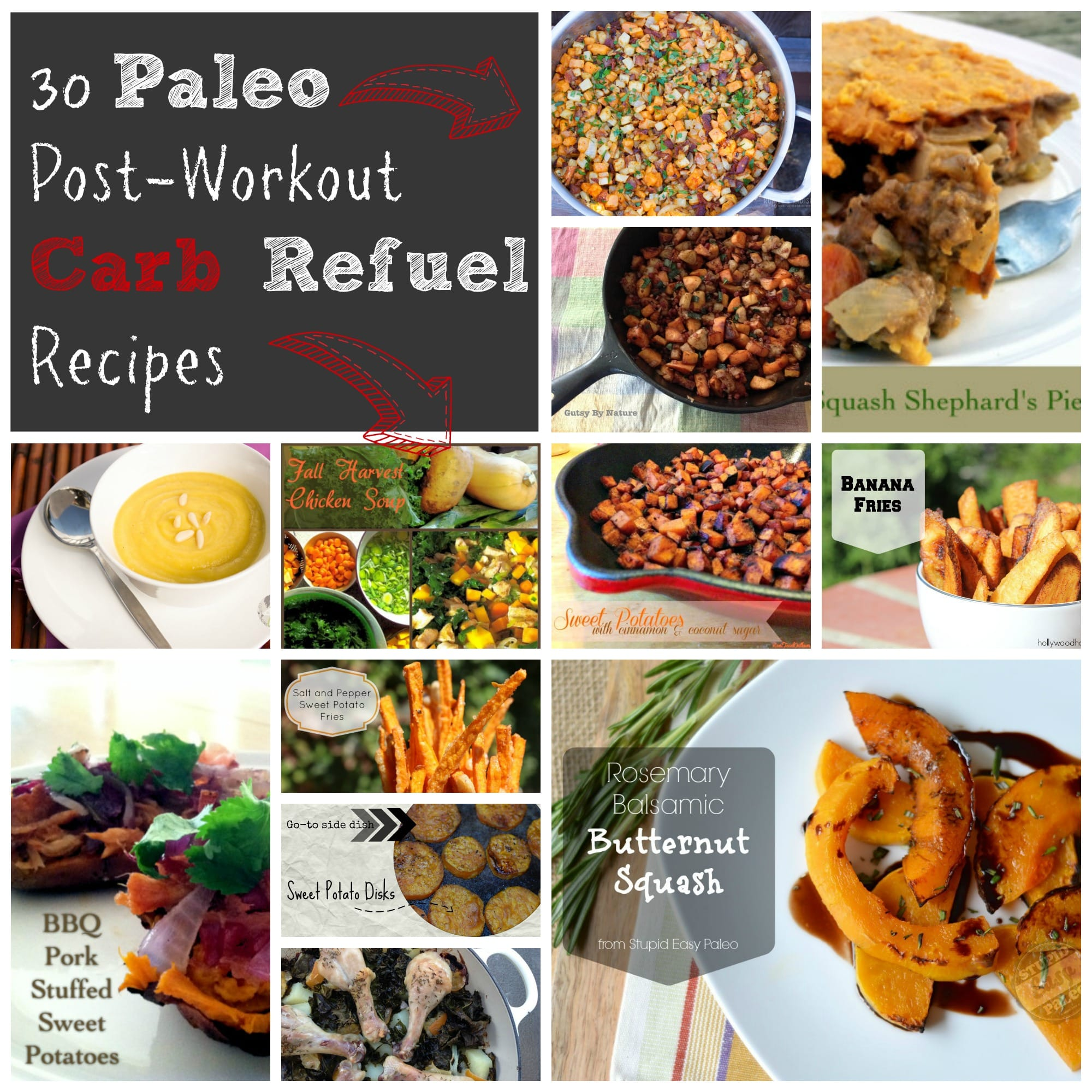 20 Post-Workout Recovery Recipes