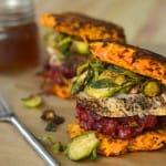 Paleo Thanksgiving Leftovers Sandwich