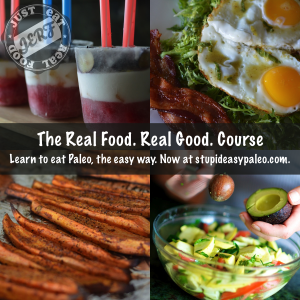 Paleo Holiday Gift Ideas Real Food Real Good eCourse | StupidEasyPaleo.com
