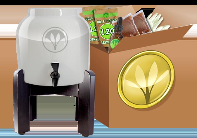 Paleo Holiday Gift Ideas Kombucha Starter Kit | StupidEasyPaleo.com