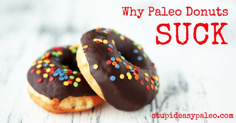 Why Paleo Donuts Suck | stephgaudreau.com