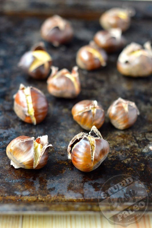 Roasted Chestnut with Herbed Brown Butter | stephgaudreau.com