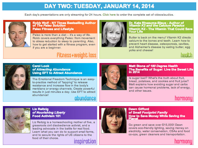 New Year, New You Summit - Day 2 Speakers | StupidEasyPaleo.com