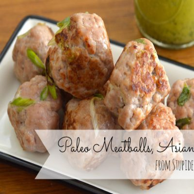 Paleo Meatballs, Asian-Style | stephgaudreau.com