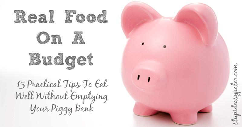 Real Food On A Budget | stephgaudreau.com