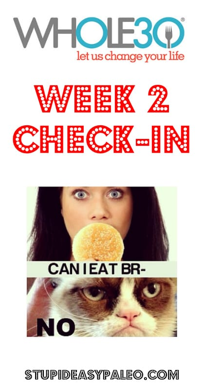 Whole30 Week 2 Check-In | stupideasypaleo.com