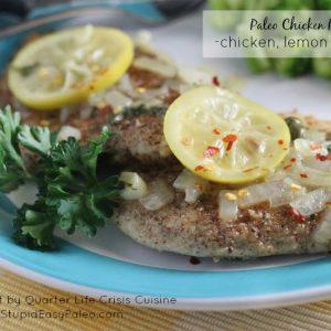 Paleo Chicken Piccata | stephgaudreau.com