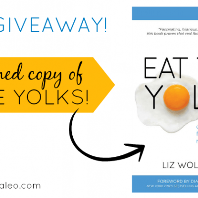Flash Giveaway: Win a Signed Copy of Eat the Yolks | stephgaudreau.com