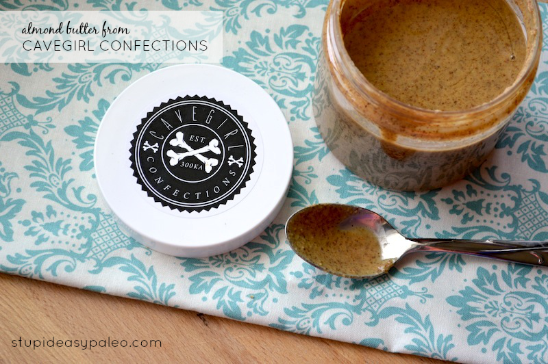 Almond Butter from Cavegirl Confections | stupideasypaleo.com