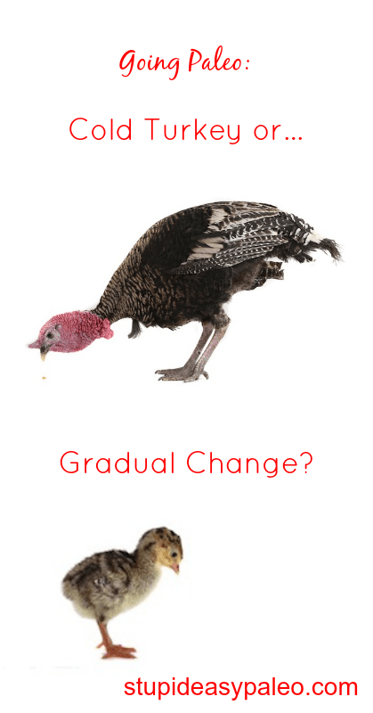 Going Paleo: Cold Turkey or Gradual Change? | stephgaudreau.com