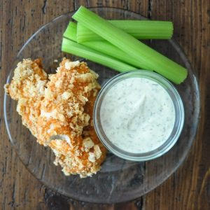 Crispy Buffalo Chicken Fingers
