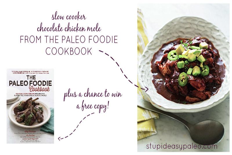 Slow Cooker Chocolate Chicken Mole | stephgaudreau.com