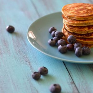 Plantain Protein Pancakes | stephgaudreau.com