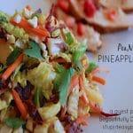 PeaNOT Pineapple Slaw | stupideasypaleo.com