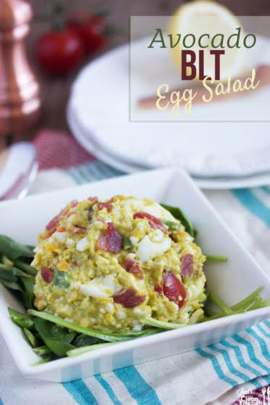 I love egg salad. Also on the list of things that I love are: avocados, tomatoes, bacon, and scallions, to name a few. | StupidEasyPaleo.com