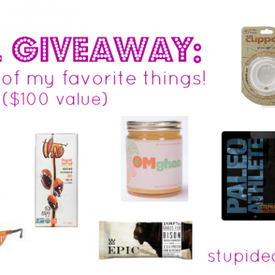 April Giveaway: Some of My Favorite Things ($100 Value) | stephgaudreau.com