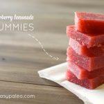 Strawberry Lemonade Gummies | stupideasypaleo.com